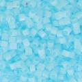Miyuki Delicas 11/0 DB1859 - Dyed Frozen Blue Silk Inside x8g