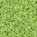 Miyuki Delicas 11/0 DB0876 - Opaque Chartreuse AB Mat x8g