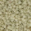 Miyuki Delicas 11/0 DB0388 - Mat Opaque Bone Luster x8g