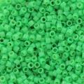 Miyuki Delicas Duracoat 11/0 DB2126 - Opaque Fiji Green x8g