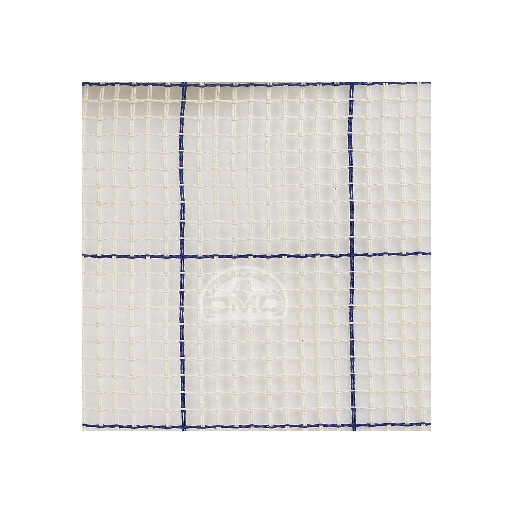 Toile canevas smyrne interlock pour tapis et ouvrages au point nou perles co - Toile antiderapante pour tapis ...