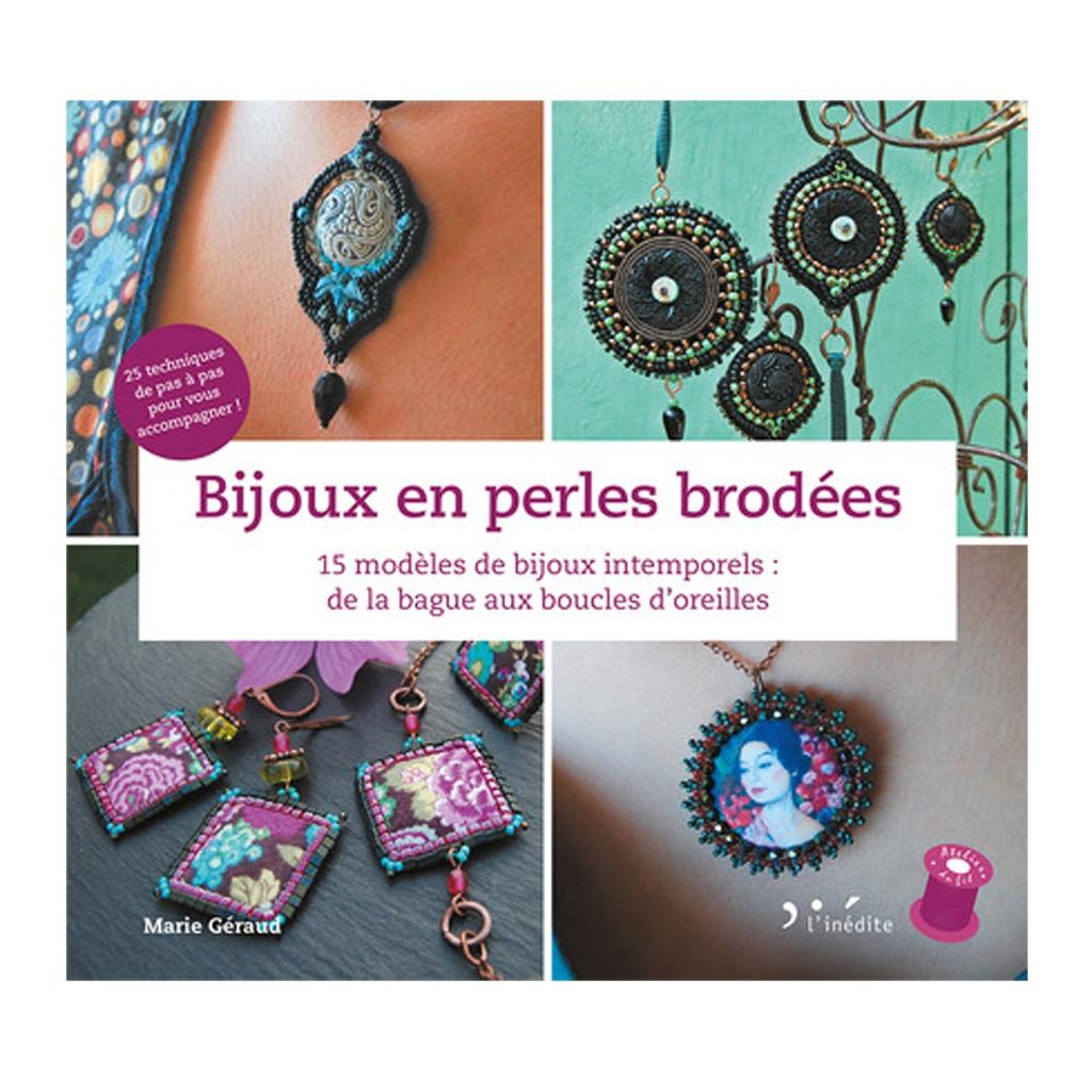 design intemporel 7acf6 fbcca Bijoux en perles brodées - 15 modèles de bijoux intemporels