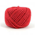 Cordon de jute 2 mm Rouge x 60 m