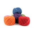 Cordon de jute 2 mm Rose x 60 m