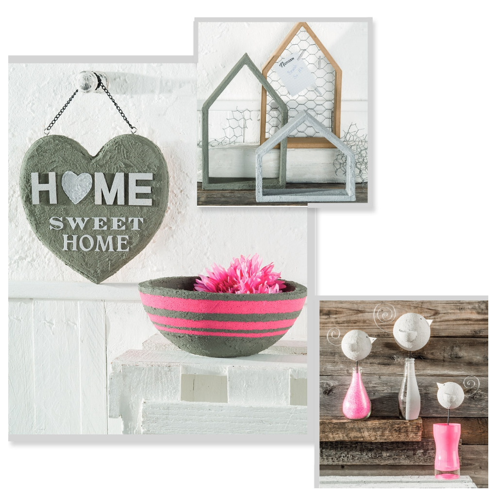 peinture acrylique easy beton pour d co et projets cr atifs diy ef perles co. Black Bedroom Furniture Sets. Home Design Ideas