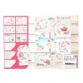 Papier Design Mix and Match pour Scrapbooking - Birthday x1