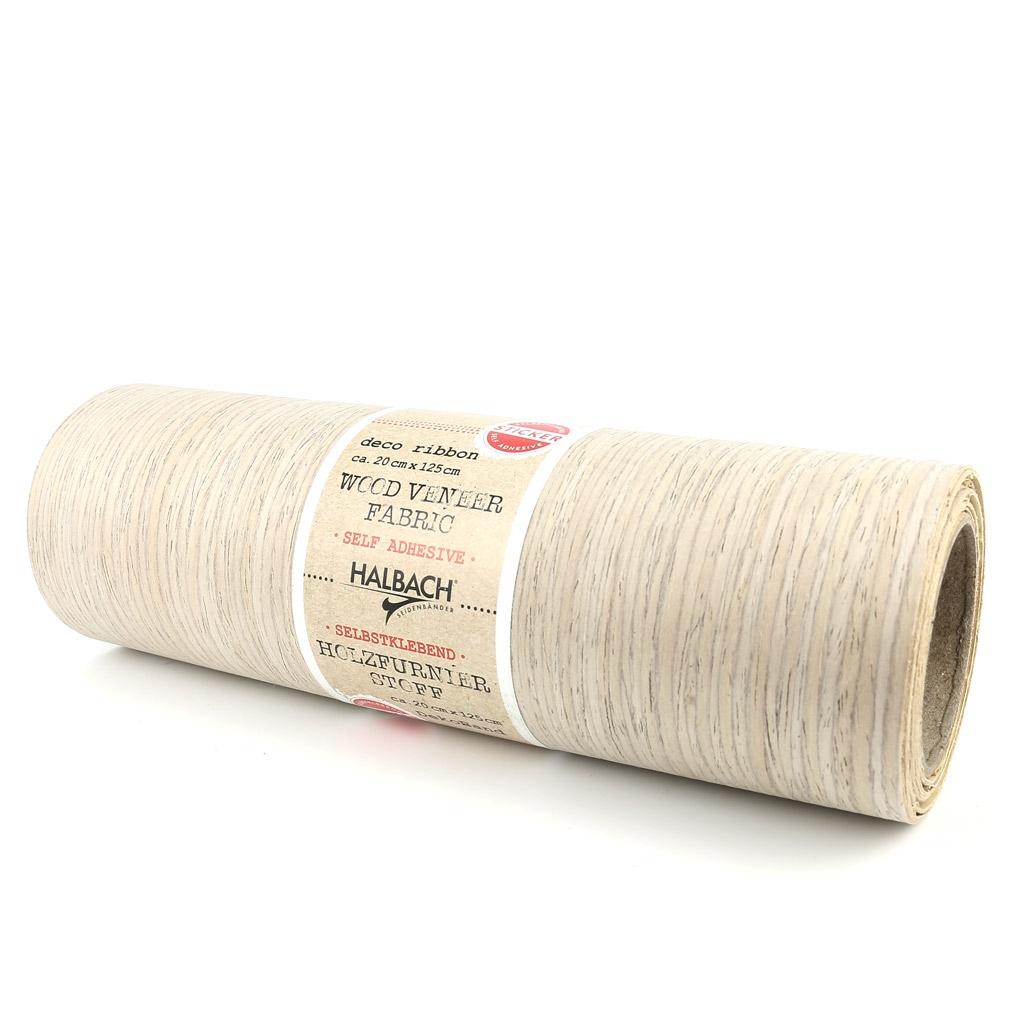 tissu d coratif placage bois adh sif coupon de 20x125 cm stone perles co. Black Bedroom Furniture Sets. Home Design Ideas