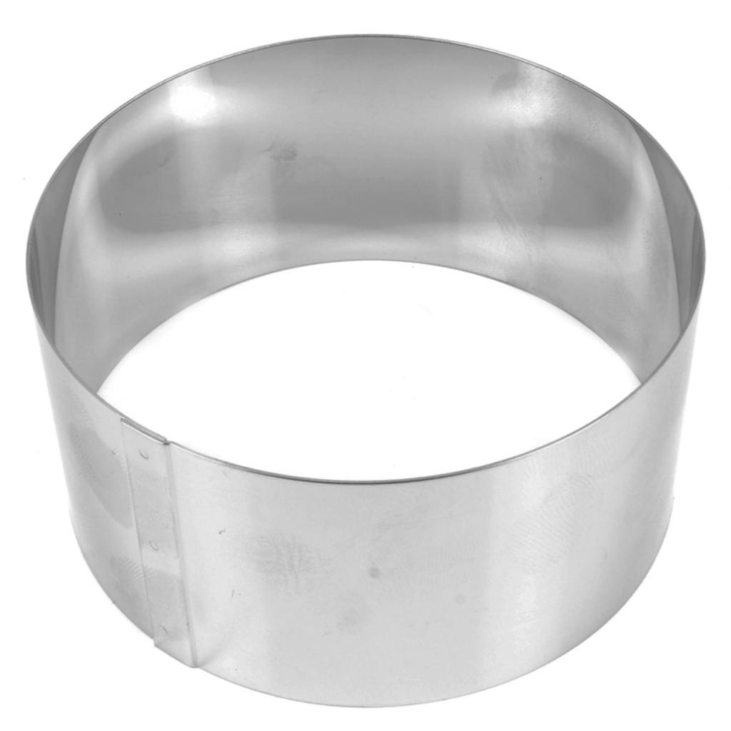 Grand emporte pi ce en inox pour modelage 80x40 mm rond perles co - Emporte piece pour evier inox ...