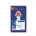 12 crayons de couleur aquarellables Ergo Soft Aquarell - STAEDTLER