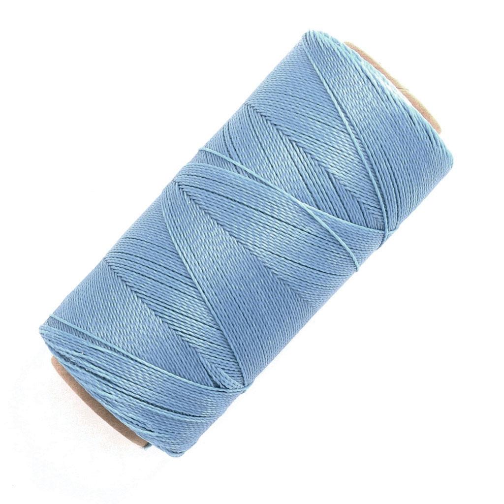 bobine de fil cir linhasita pour micro macram 0 5 mm light blue perles co. Black Bedroom Furniture Sets. Home Design Ideas