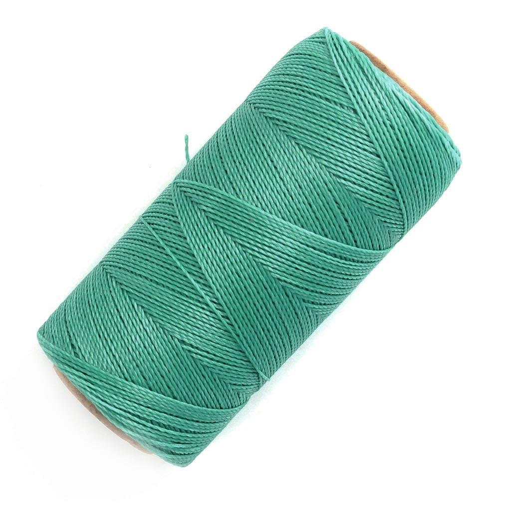 bobine de fil cir linhasita pour micro macram 0 5 mm green turqu perles co. Black Bedroom Furniture Sets. Home Design Ideas
