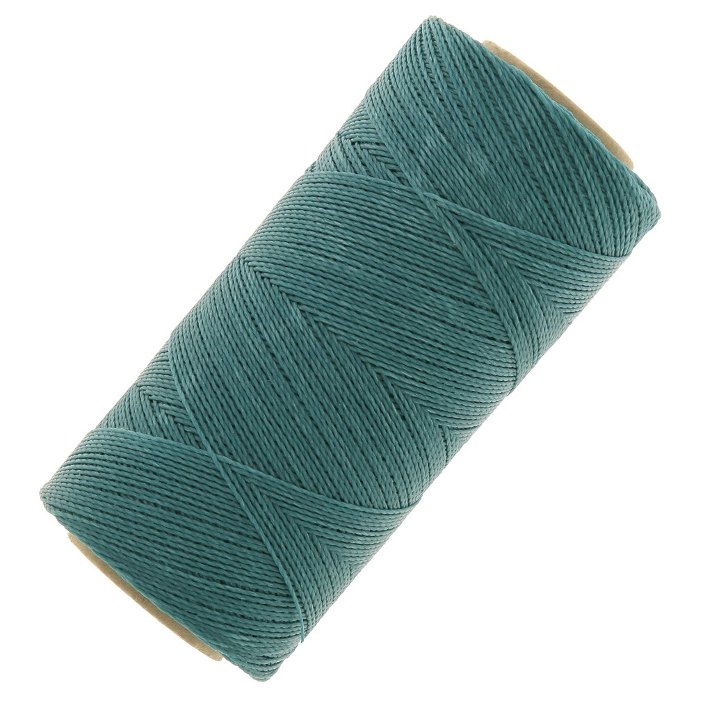 bobine de fil cir linhasita pour micro macram 0 5 mm turquoise perles co. Black Bedroom Furniture Sets. Home Design Ideas