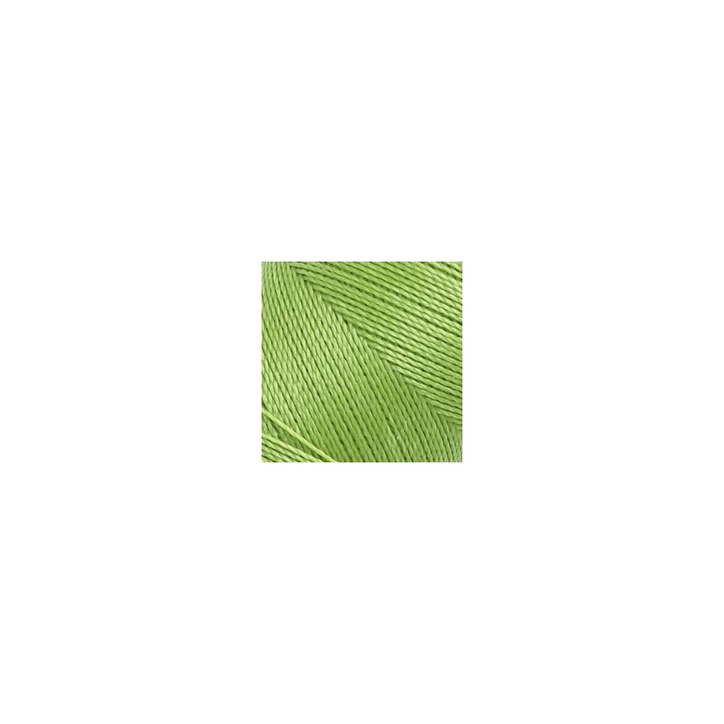 bobine de fil cir linhasita pour micro macram 0 5 mm lime green perles co. Black Bedroom Furniture Sets. Home Design Ideas