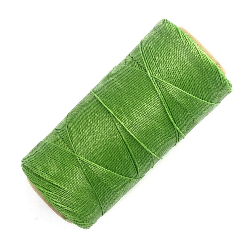 bobine de fil cir linhasita pour micro macram 0 5 mm grass green perles co. Black Bedroom Furniture Sets. Home Design Ideas