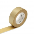 Masking Tape unis 15 mm - Gold x10m