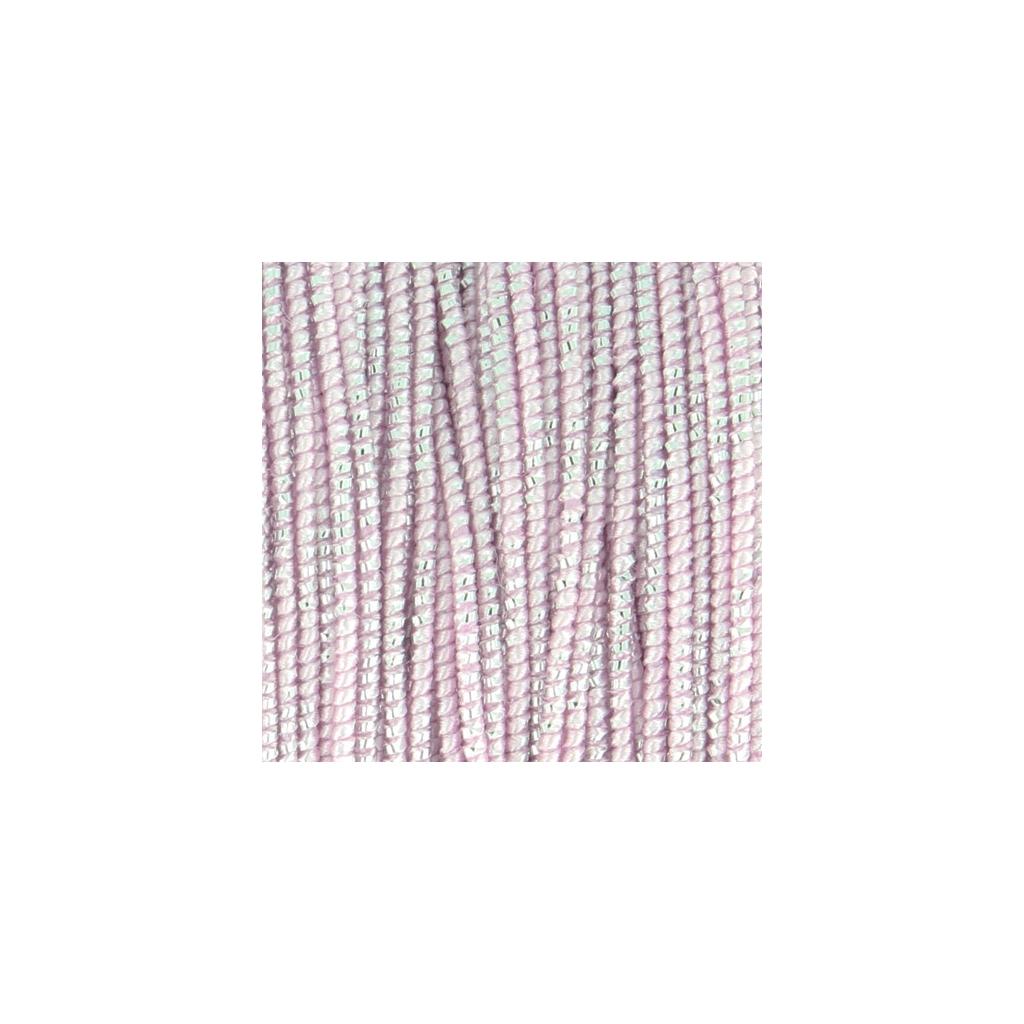 bobine de fil blissino fabrication italienne 0 6 mm rose argent perles co. Black Bedroom Furniture Sets. Home Design Ideas