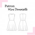 Patron Louis Antoinette robe Mini Demoiselle