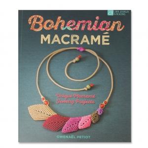 Bohemian Macrame Jewelry Projects Livre En Anglais