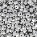 Perles facettées en verre tchèque Micro Spacers 2x3 mm Labrador x50