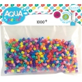 Perles Aqua Pearls / AquaBeads - Recharge Mix couleur x1000