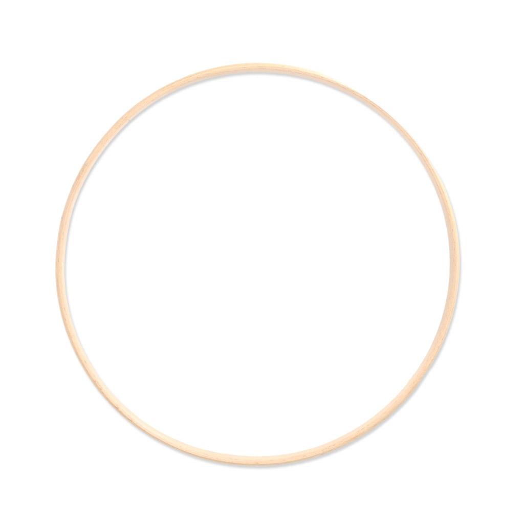 Cercle en bois pour attrape r ve et d coration 25 cm x1 - Cercle pour attrape reve ...