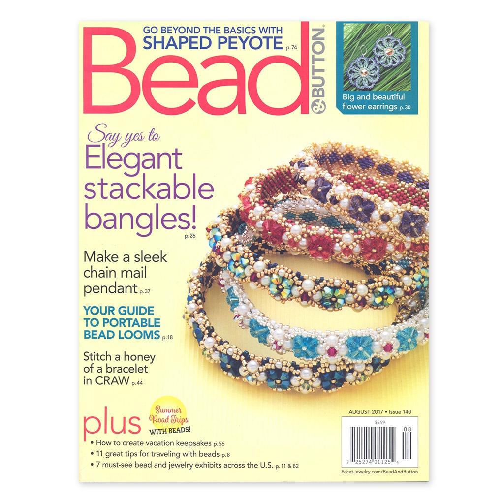 magazine bead button ao t 2017 en anglais perles co. Black Bedroom Furniture Sets. Home Design Ideas