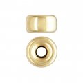 Rondelle stoppeur 6x3.4 mm Gold filled 14 carats x1