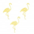 Motifs Thermocollants Miniatures Mme Mlle 36 mm Flamant Rose x20