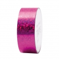 Ruban adhésif - Paper Poetry Tape 20 mm Hologramme Pois Fuchsia x10m