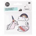 Assortiment d'écussons brodés thermocollants Magical Summer - Licorne & Cie
