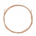 Fil semi-dur 1.02 mm en Rose Gold Filled 12 carats x 1 m