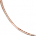Fil semi-dur 0.64 mm en Rose Gold Filled 12 carats x 1 m