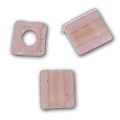 Cubes Miyuki 3 mm SB3-2644 - Light Rose Dusty Rose Lined x10g