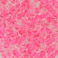 Rocaille Toho Demi Round 8/0 TO8RDR0971 - Crystal Mat Neon Pink Lined x5g
