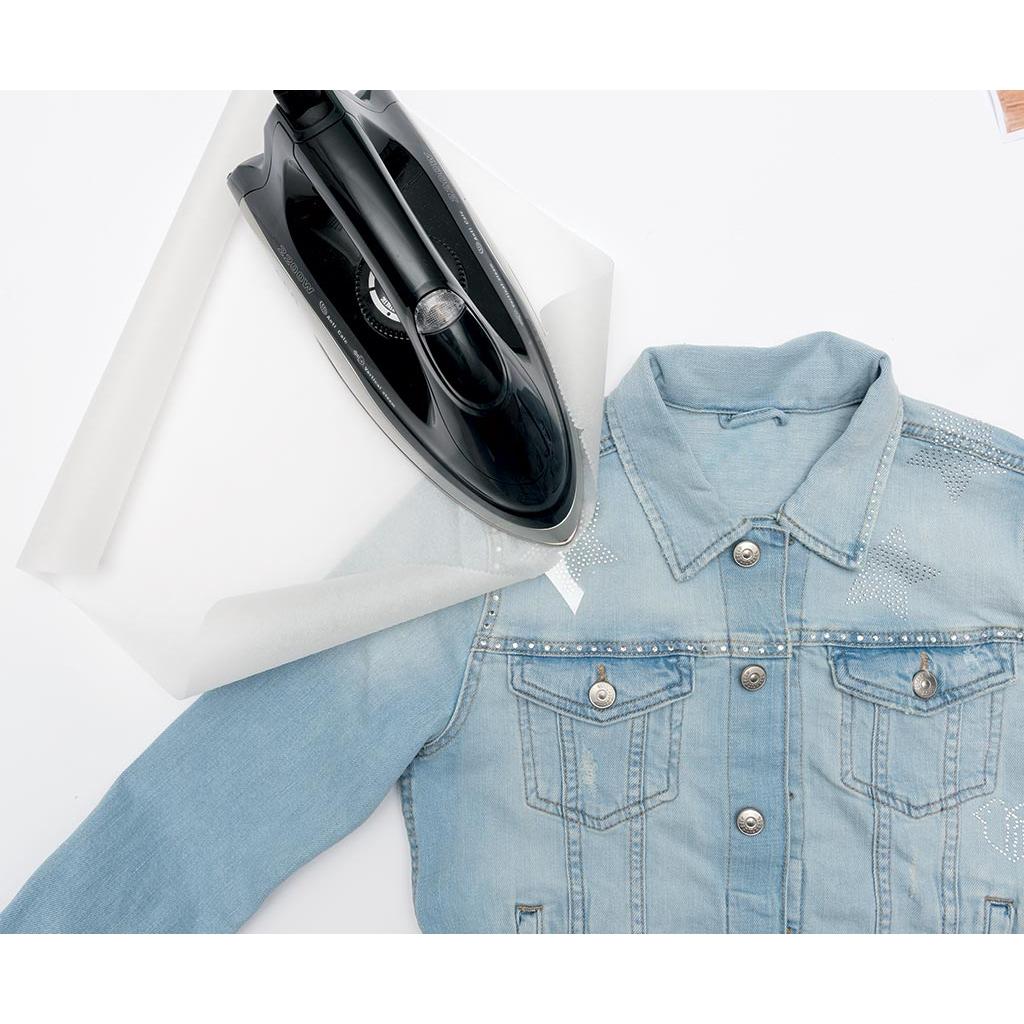 Super Motif Thermocollant Coeur effet Irisé pour customiser des vêtement  EZ89