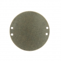 Intercalaire rond 4 trous 25 mm Bronze x1