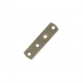 Intercalaire 4 rangs 17 x 4.4 mm bronze x1