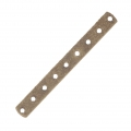 Intercalaire 9 rangs 40.5 x 4.6 mm bronze x1