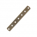 Intercalaire 7 rangs 31 x 4.4 mm bronze x1