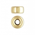 Rondelles 3.2x1.6 mm Gold filled 14 carats x4