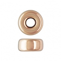 Rondelles 3.2x1.6 mm Rose Gold filled 14 carats x4