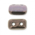 Rullas Duet 3x5 mm Bicolore Black/Opaque Amethyst Luster x10g