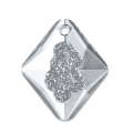 Pendentif Swarovski 6926 Growing Crystal Rhombus 26 mm Crystal