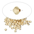 Toupies 3.10 mm Gold filled 14 carats x10