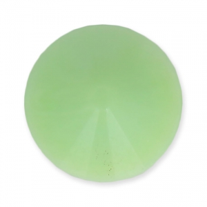 Cabochon rond Rivoli Matubo 12 mm Light Mint