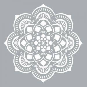 Pochoir Décoratif Home Deco Xl 457 X 457 Cm Mandalas Rosace