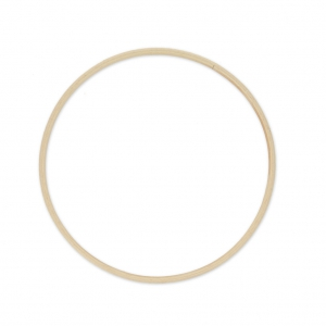 cercle en bois de h tre pour attrape r ve et d coration 20 cm x1 perles co. Black Bedroom Furniture Sets. Home Design Ideas