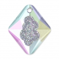 Pendentif Swarovski 6926 Growing Crystal Rhombus 26 mm Crystal AB