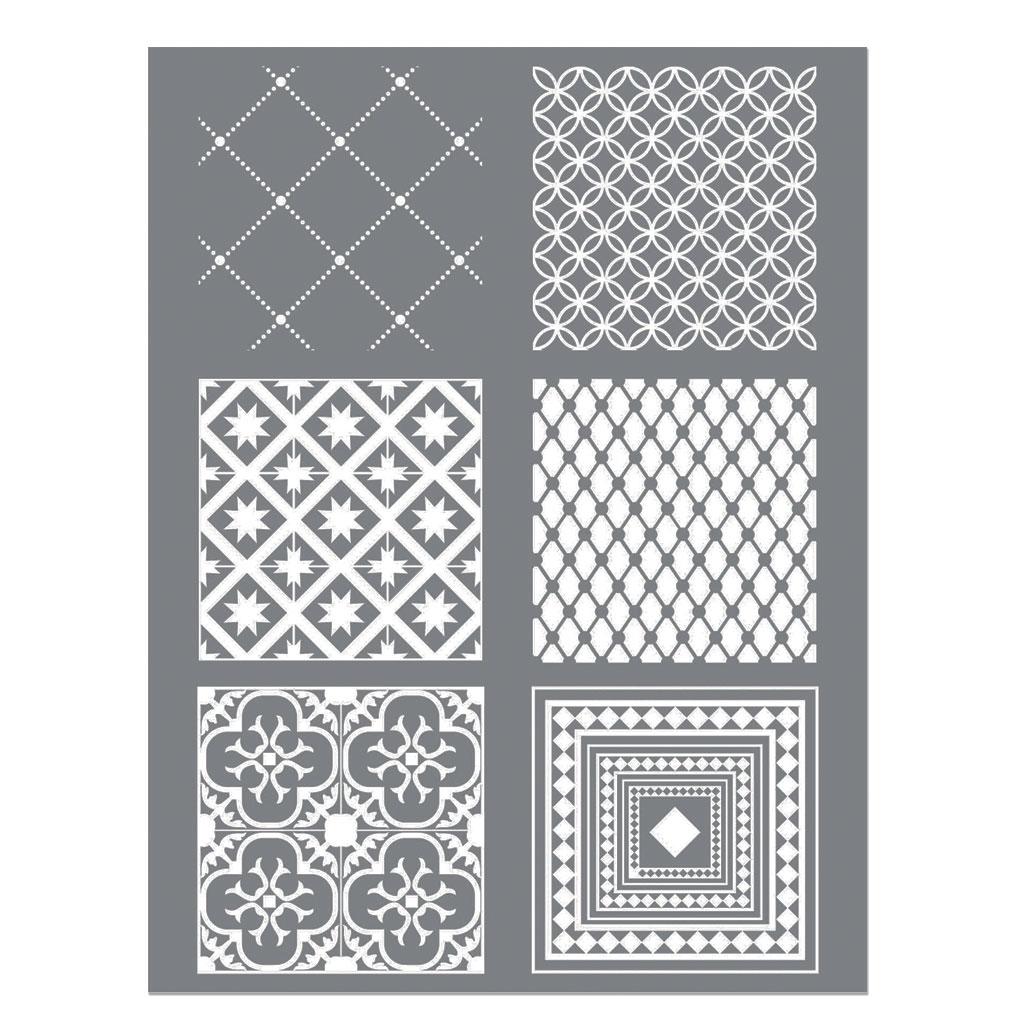 silk screen graine cr ative pour p te polym re 114x153mm motif c perles co. Black Bedroom Furniture Sets. Home Design Ideas
