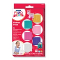 Kit Fimo Kids pâte à modeler assortiments de 6 couleurs Girly